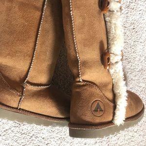Airwalk Shoes - Airwalk Girls Myra Brown Boots